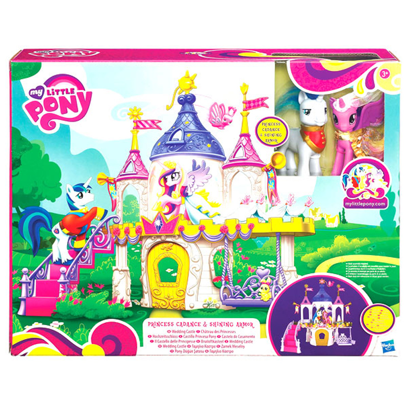 My Little Pony Royal Wedding: My Little Pony Royal Wedding Castle Playset Amazoncouk