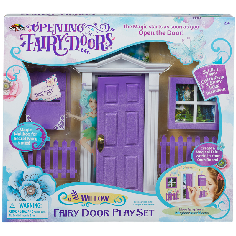 Opening fairy doors playset from character options wwsm for Fairy door kits canada
