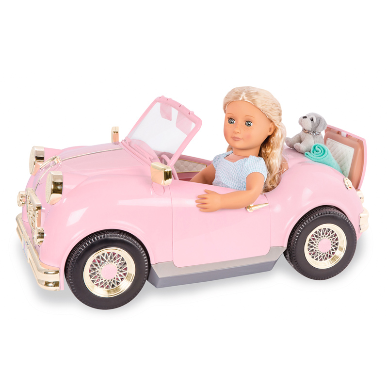 Toys For 18 : Retro car for quot doll from our generation wwsm