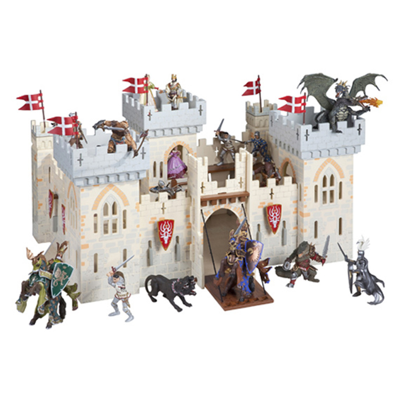 PAPO Knights Weapon Master Castle with Optional ...