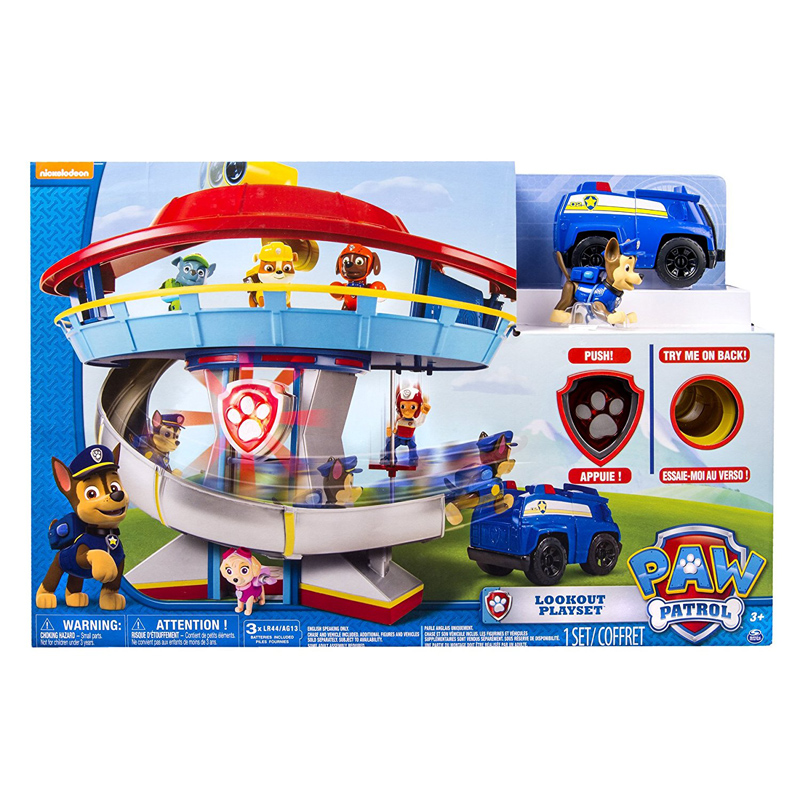 Toy Garage Toys R Us >> Lookout Playset from Paw Patrol | WWSM