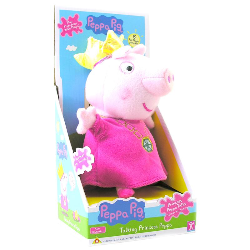 Peppa Pig Toys : Peppa pig quot talking plush george ballerina or princess