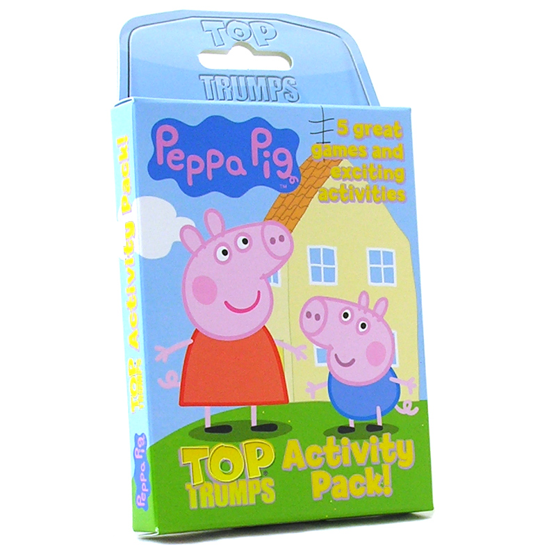 Best Peppa Pig Toys : Top trumps activity pack from peppa pig wwsm