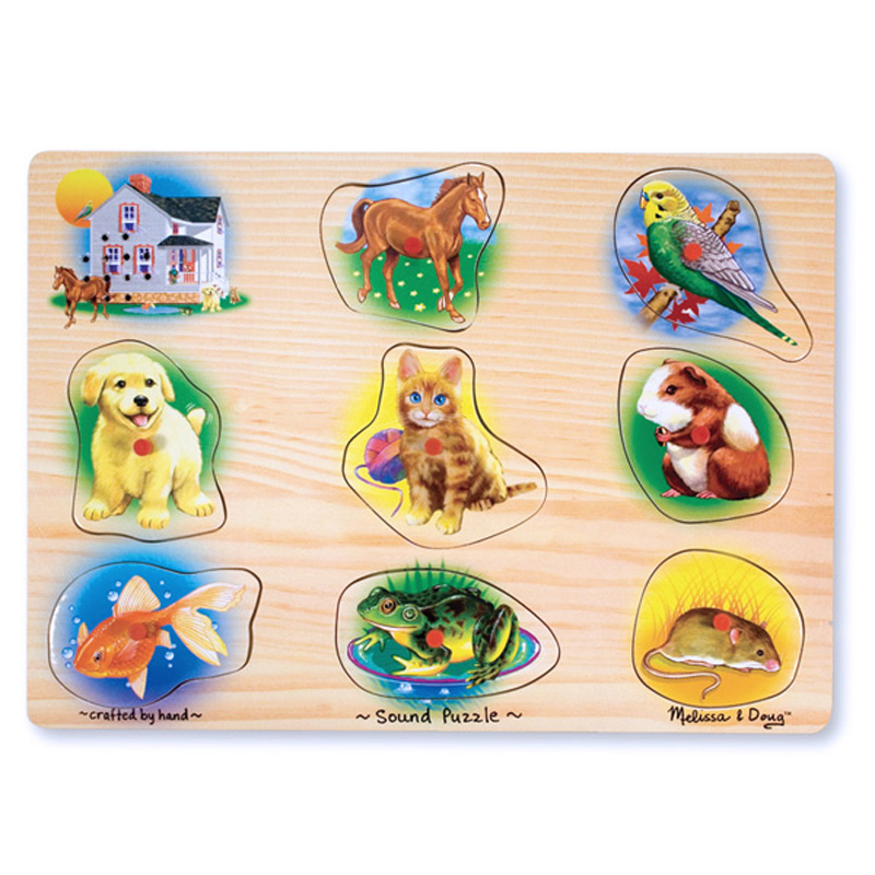 Pets Sound Puzzle from Melissa And Doug | WWSM