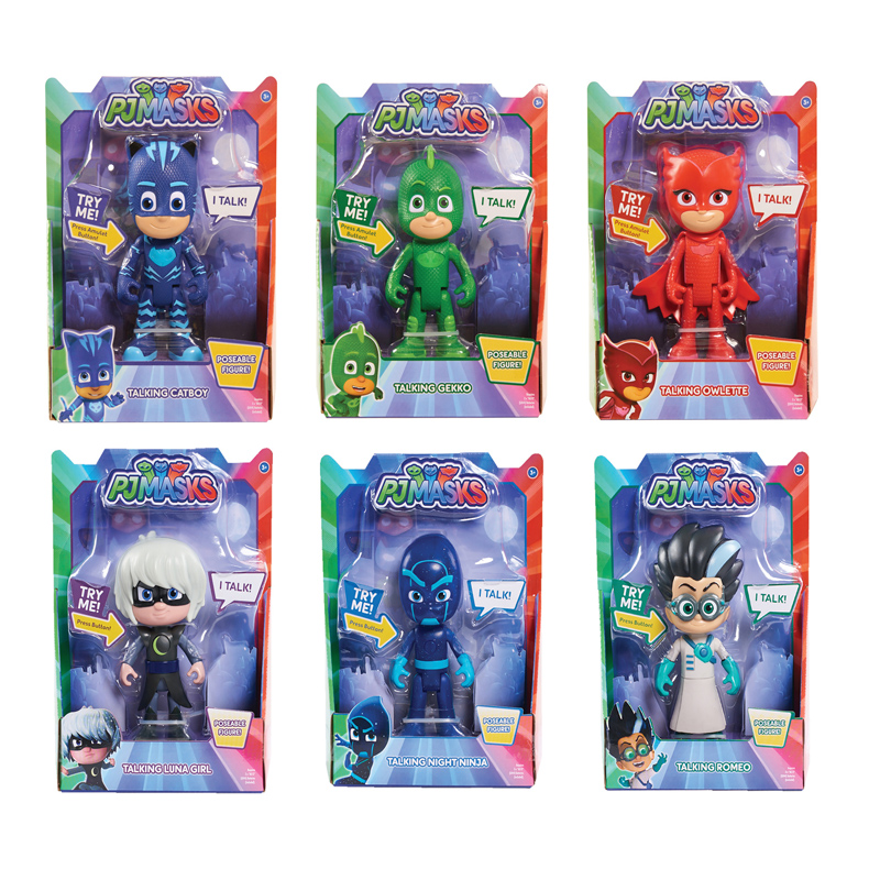 Deluxe Talking Figures from PJ Masks