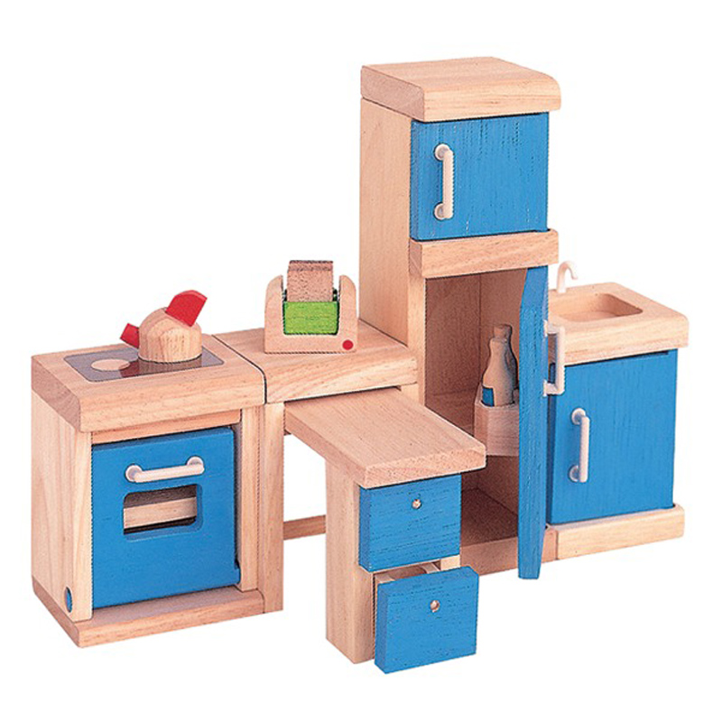 dolls house kitchen neo from plan toys wwsm