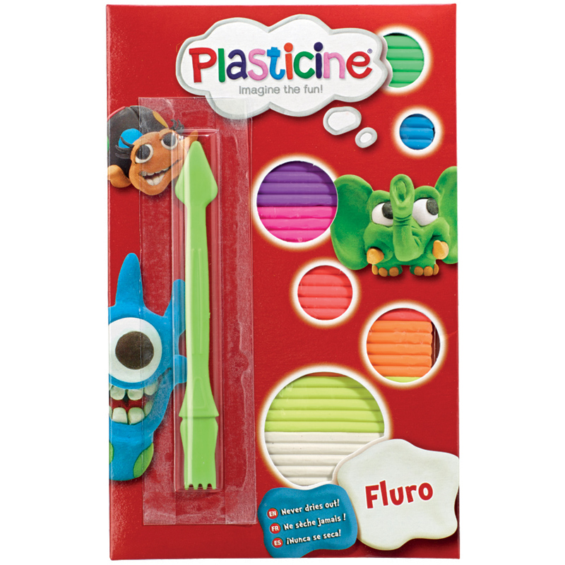 Used Alien Bees For Sale: Plasticine Fluro 9 Different Colours With Tool