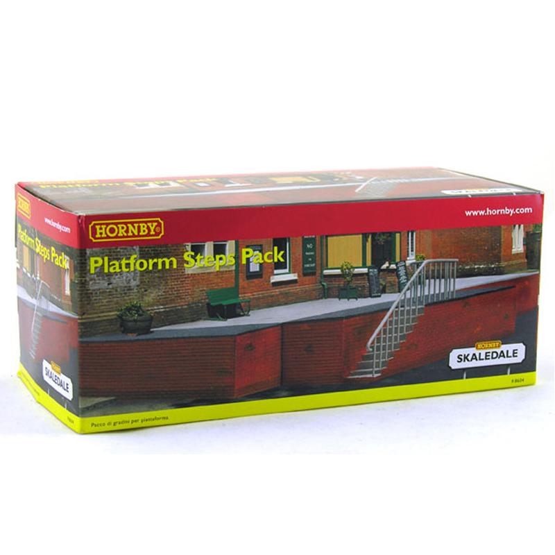 Platform Steps Pack- R8604 from Hornby | WWSM Stepbridge