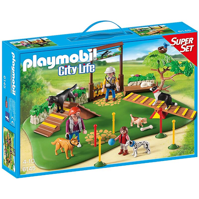 Playmobil City Life Dog Park Super Set 6145 New Ebay