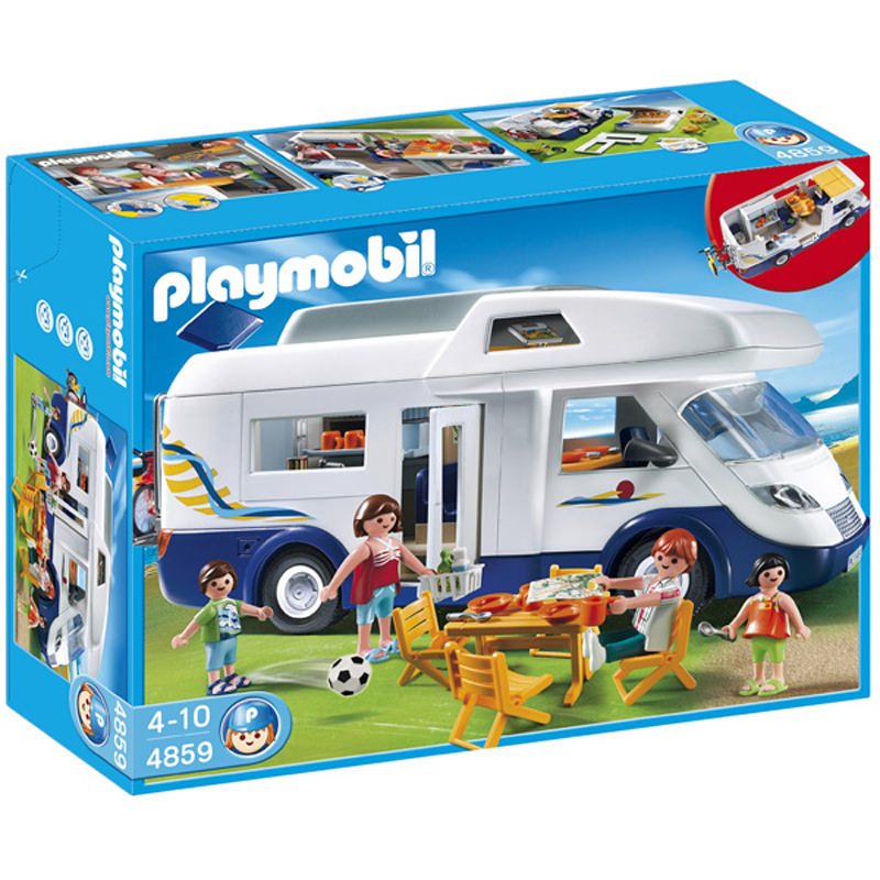 Family camper 4859 from playmobil wwsm for Modele maison lego