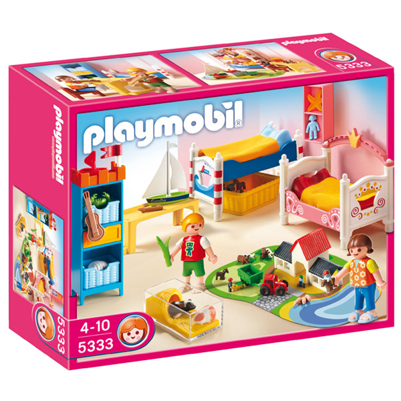 Childrens room 5333 from playmobil wwsm for Chambre bebe toys r us