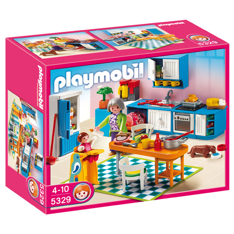 kitchen 5329 from playmobil wwsm. Black Bedroom Furniture Sets. Home Design Ideas