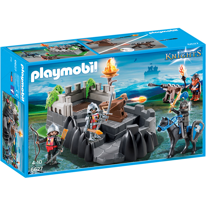 dragon knights fort from playmobil wwsm. Black Bedroom Furniture Sets. Home Design Ideas