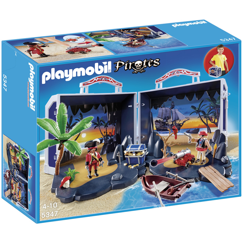 Toys And Treasures : Pirate treasure chest from playmobil wwsm