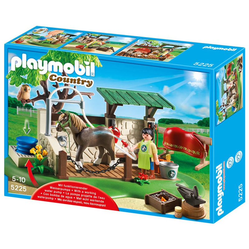 horse care station from playmobil wwsm. Black Bedroom Furniture Sets. Home Design Ideas