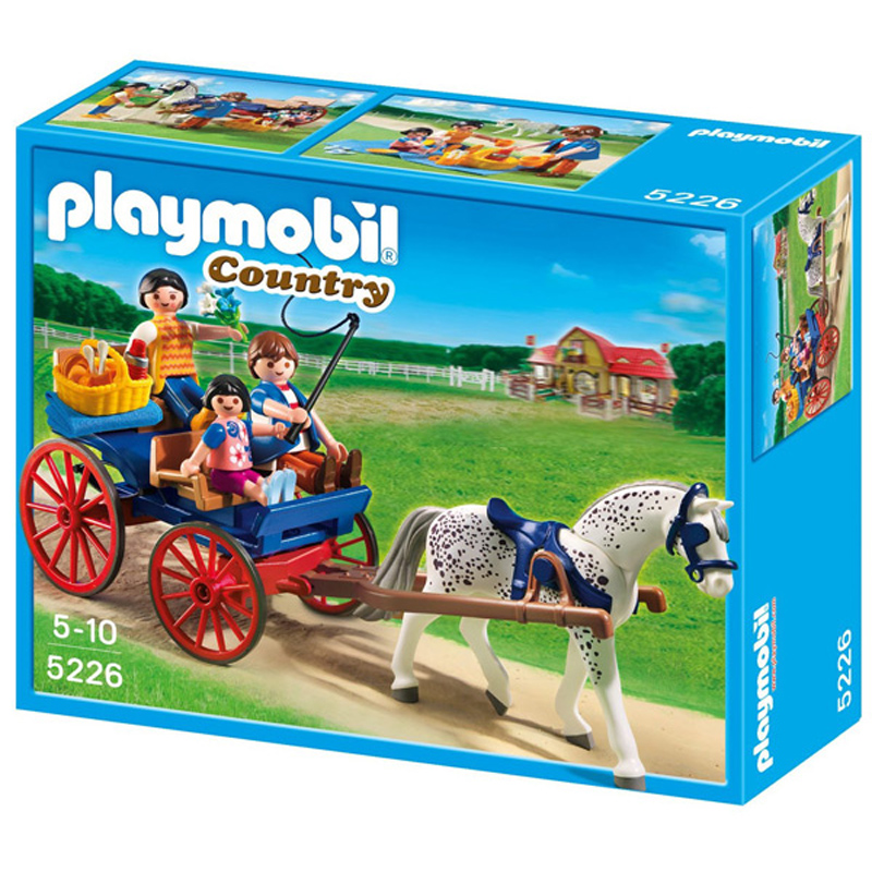 Horse drawn carriage from playmobil wwsm - Playmobil kutsche ...