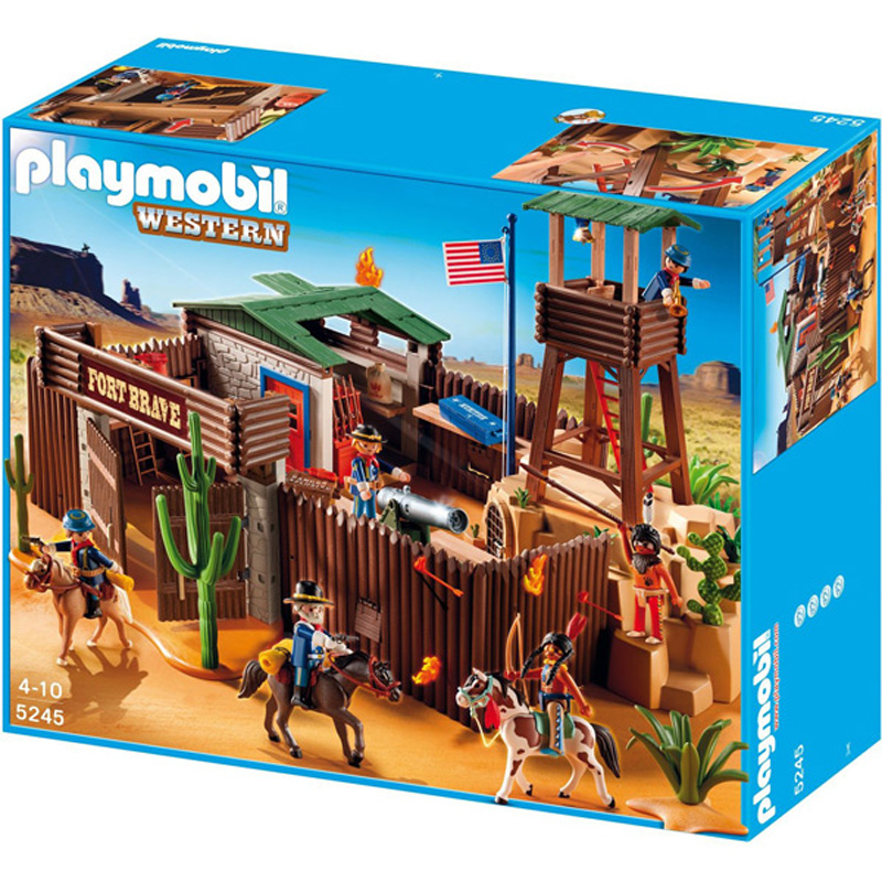 western fort from playmobil wwsm. Black Bedroom Furniture Sets. Home Design Ideas