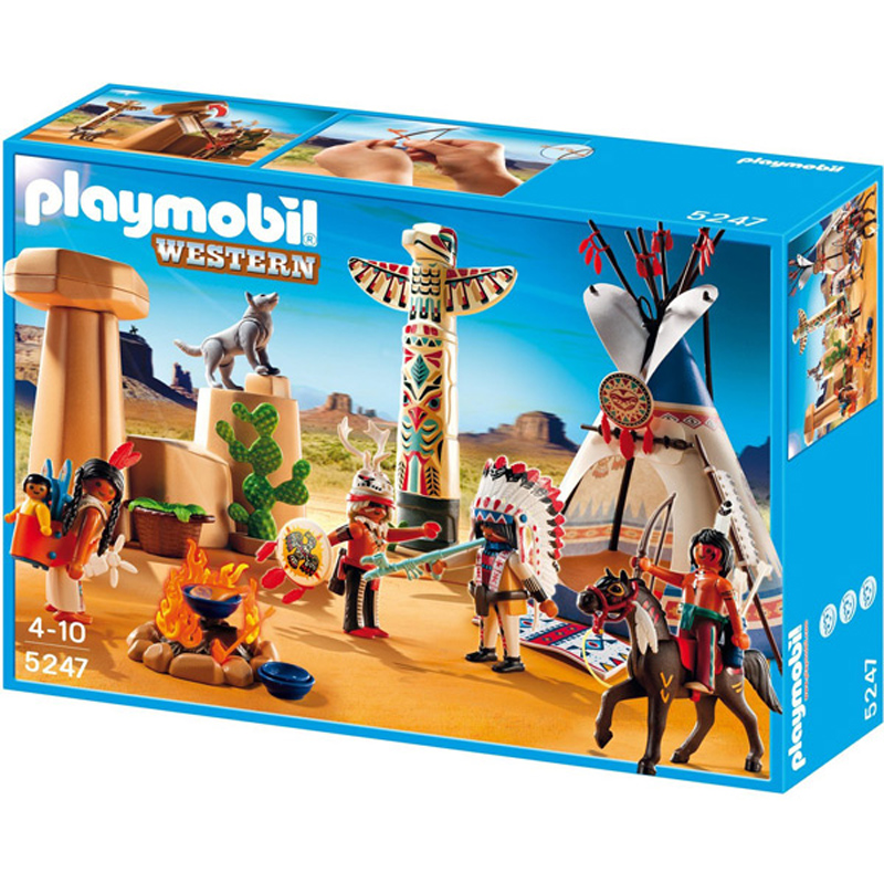 Native American Camp From Playmobil Wwsm
