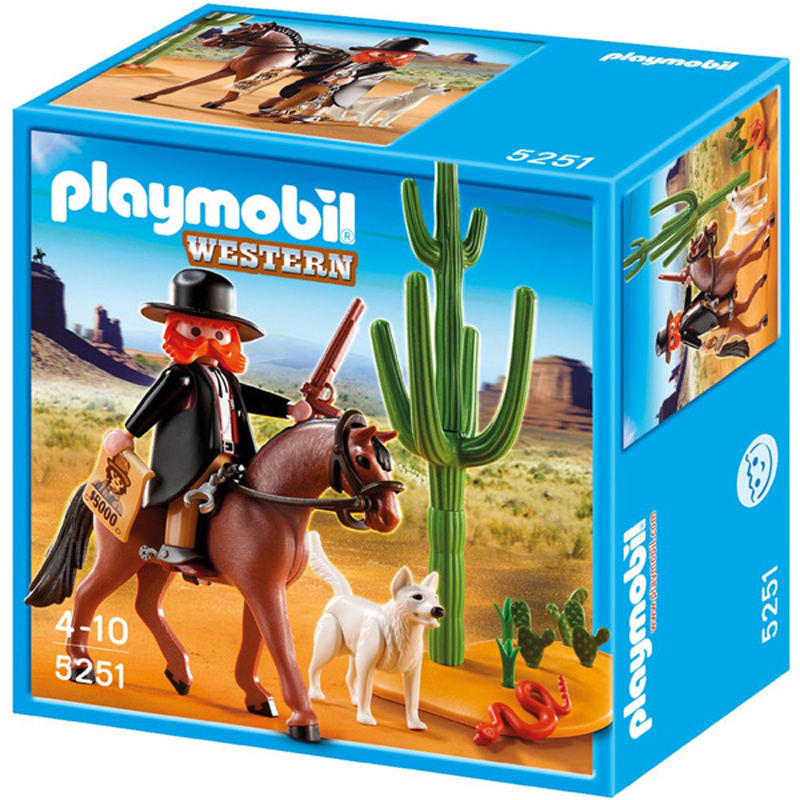 Sheriff with horse from playmobil wwsm - Playmobil kutsche ...