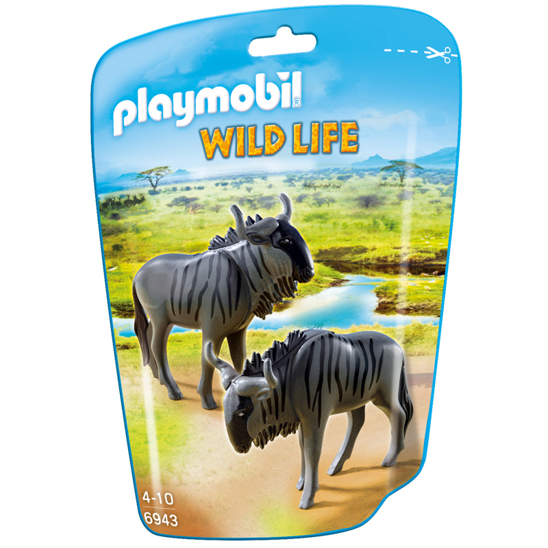 wildebeests from playmobil wwsm. Black Bedroom Furniture Sets. Home Design Ideas