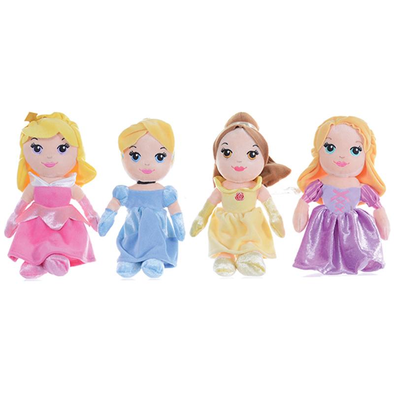 Disney Princess Toys : Posh paws cute quot soft doll from disney princess wwsm