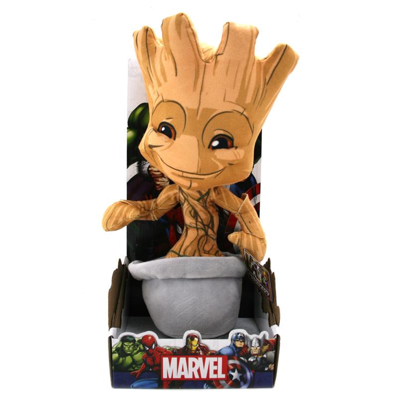 Posh Paws Marvel 10 Quot Baby Groot Plush New Ebay