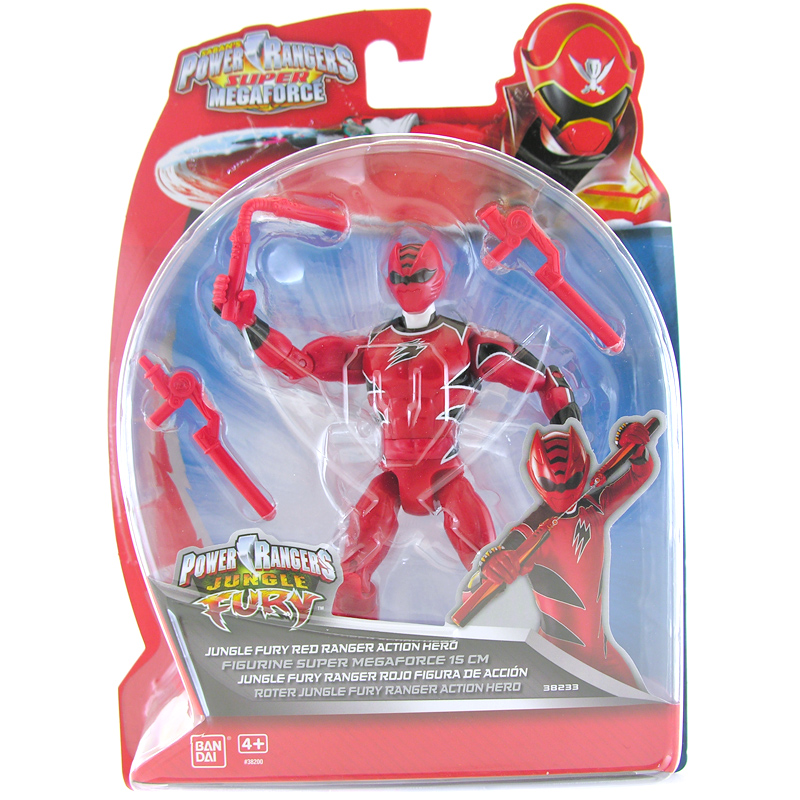 Power rangers super megaforce 15cm action figure choice of - Power rangers megaforce jungle fury ...