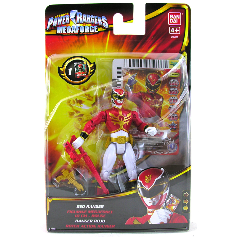 Best Power Ranger Toys And Action Figures : Megaforce cm action figure from bandai wwsm