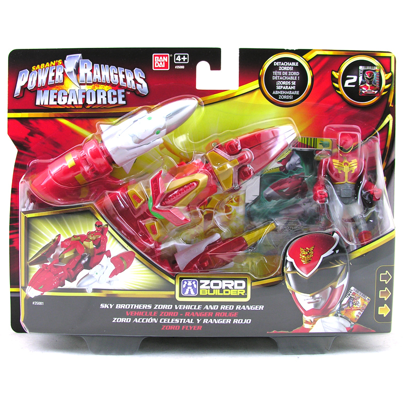 Toys For Brothers : Megaforce zord vehicle from bandai wwsm