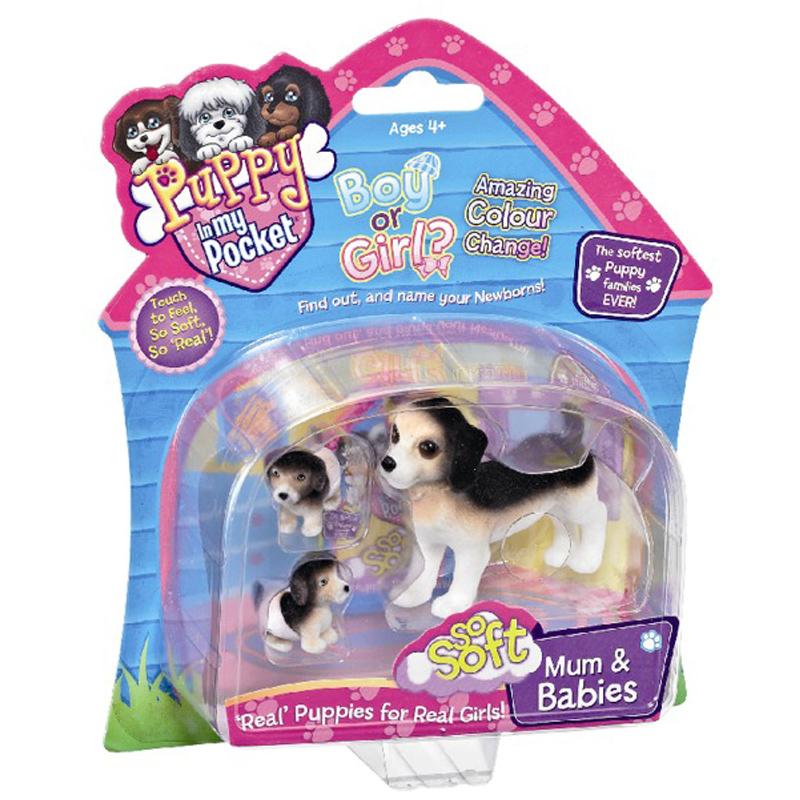 Pocket Puppies Toys