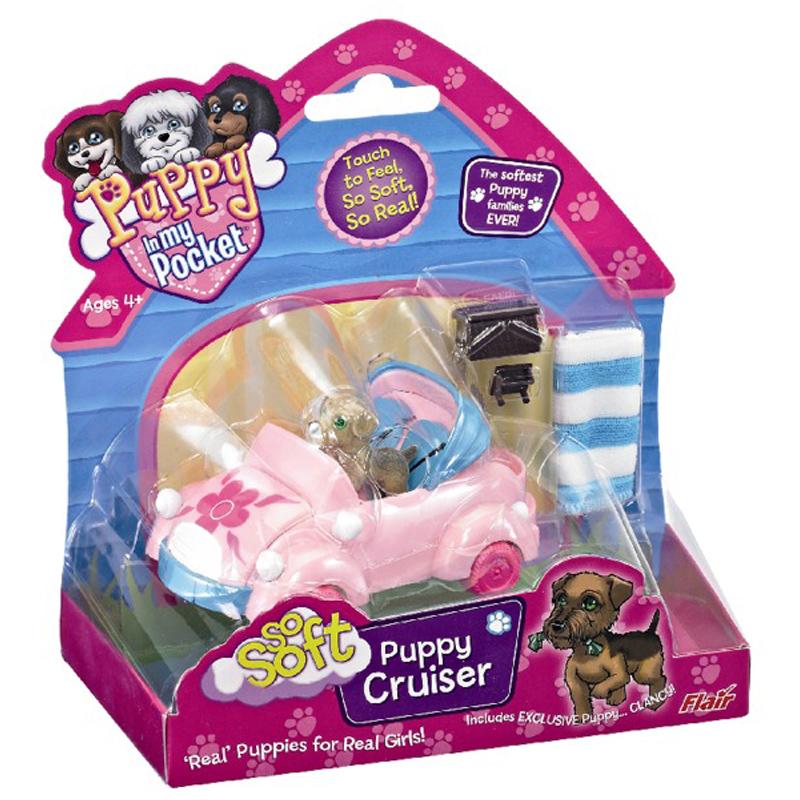 Soft Toys With Pockets : Puppy in my pocket so soft picnic cruiser ebay