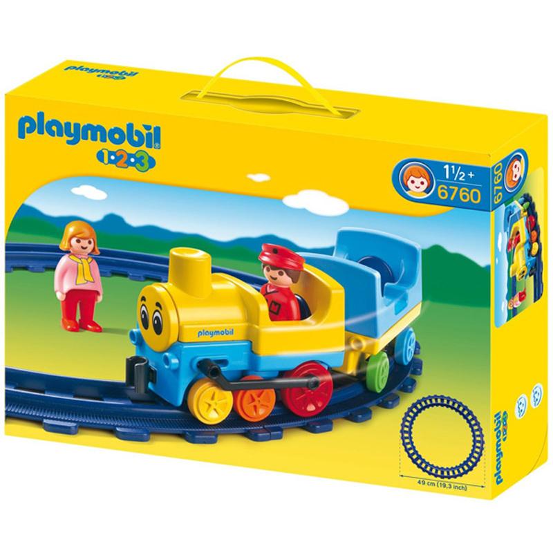 Playmobil 123 toy shop wwsm - Train playmobil ...