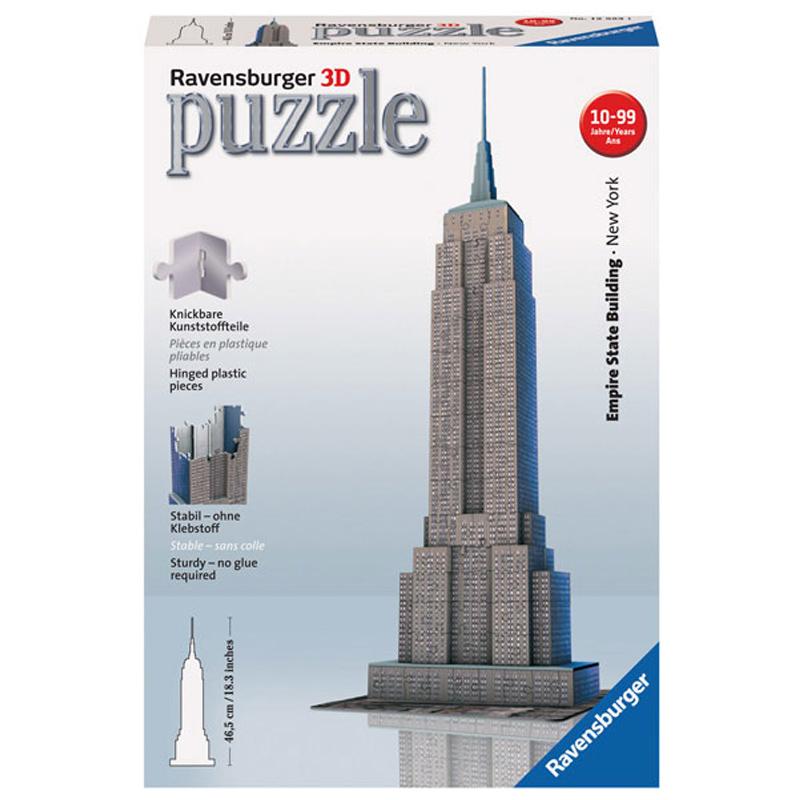 ravensburger 3d puzzle empire state building
