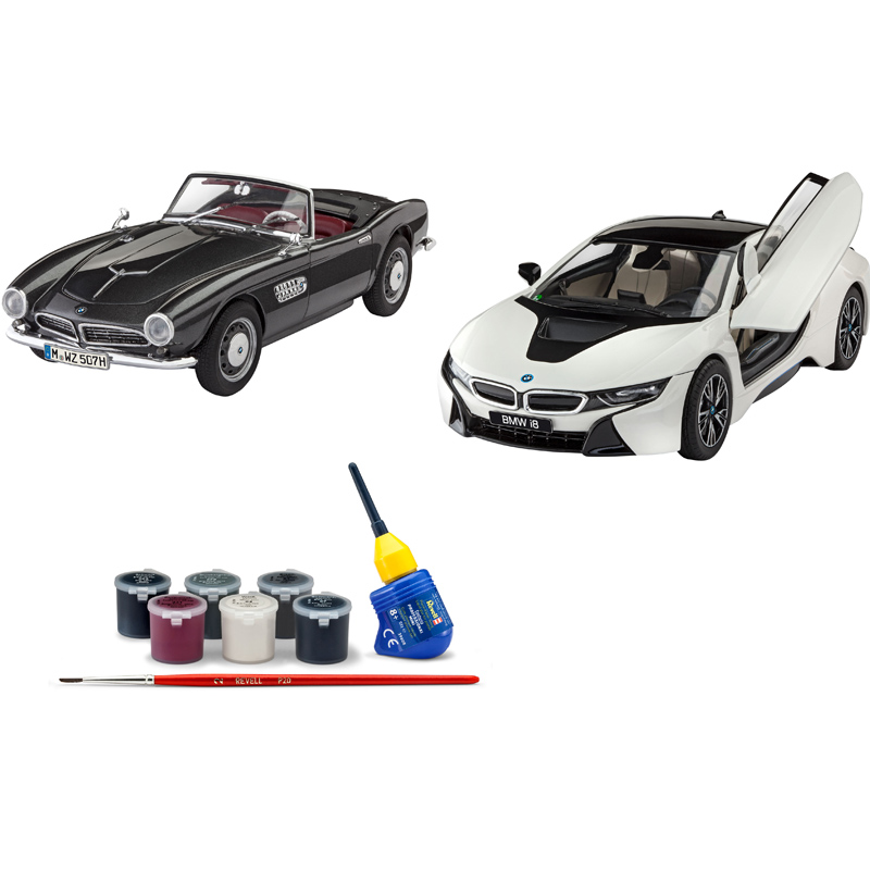 Bmw Years: Revell 100 Years Of BMW Gift Set (Level 4) (Scale 1:24