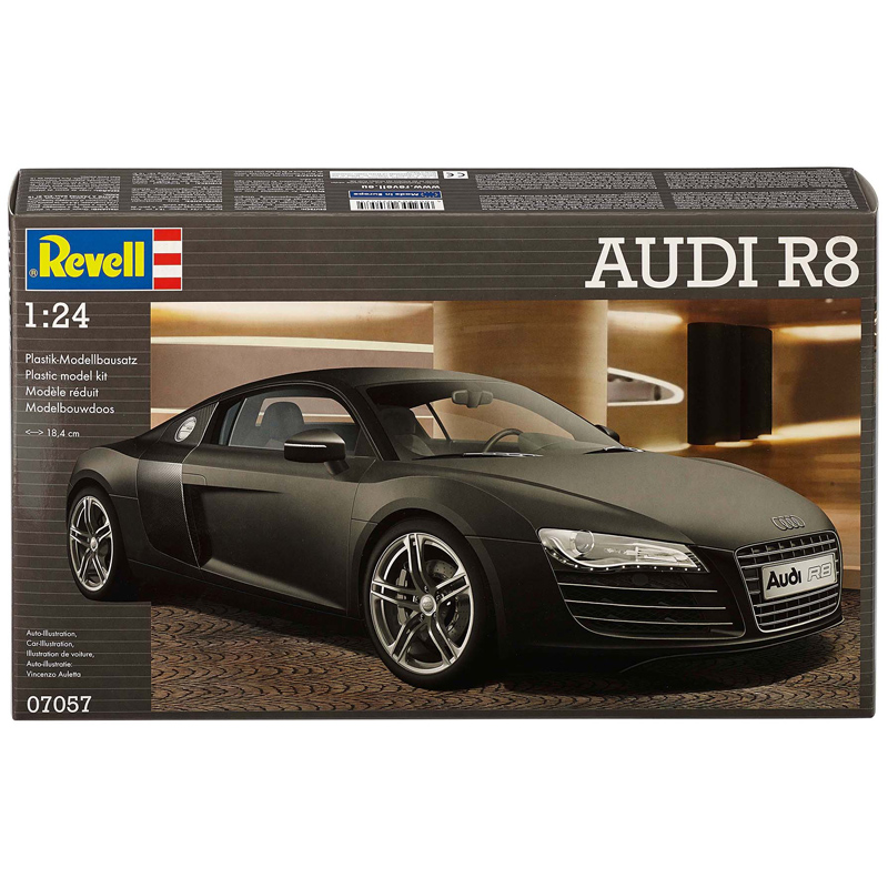Revell Audi R8 Scale 1 24 Model Kit New Ebay