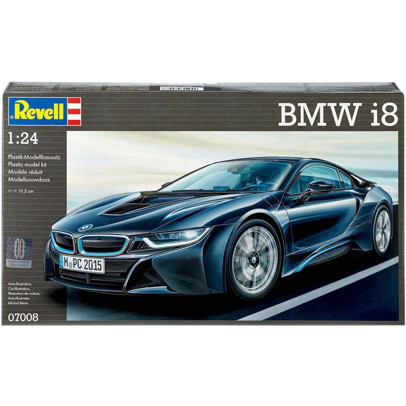 Revell Bmw I8 Scale 1 24 Model Kit New Ebay