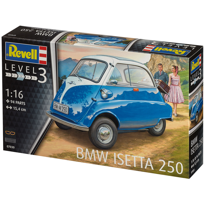 Revell BMW Isetta 250 (Level 3) (Scale 1:16) 07030 NEW