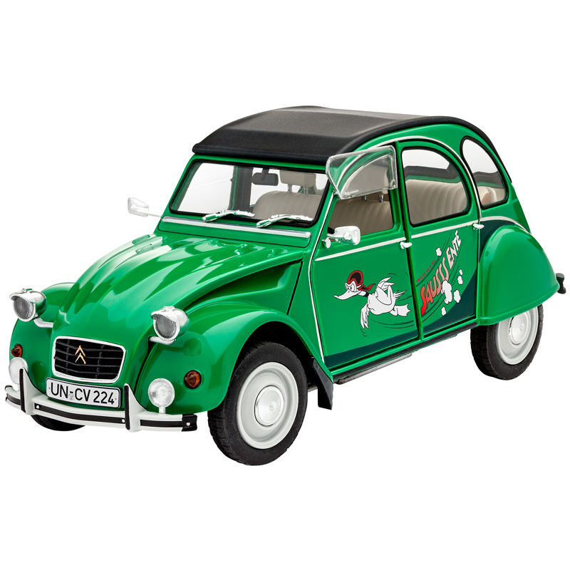 revell citro n 2cv sausss ente level 4 scale 1 24 ebay. Black Bedroom Furniture Sets. Home Design Ideas