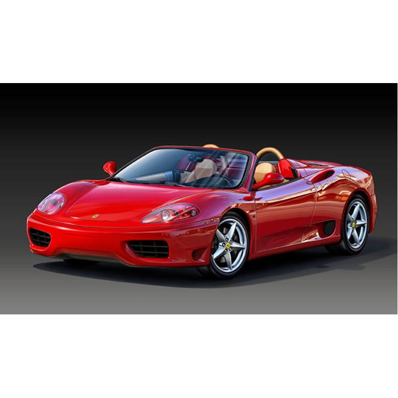 Ferrari 360 Spider Modena From Revell Wwsm