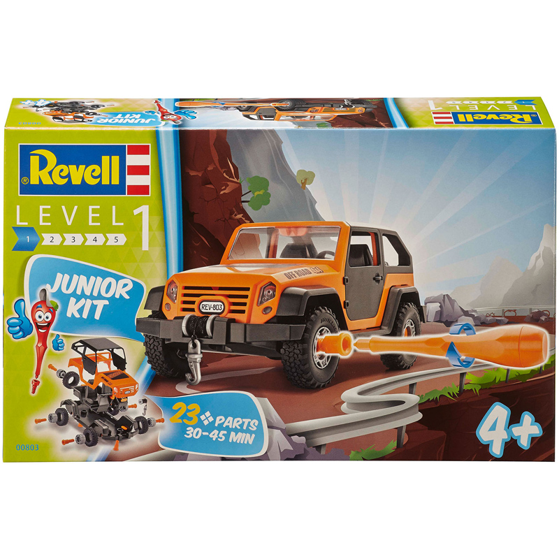 Revell Junior Kit Off-Road Vehicle (Level 1) (Scale 1:20) NEW