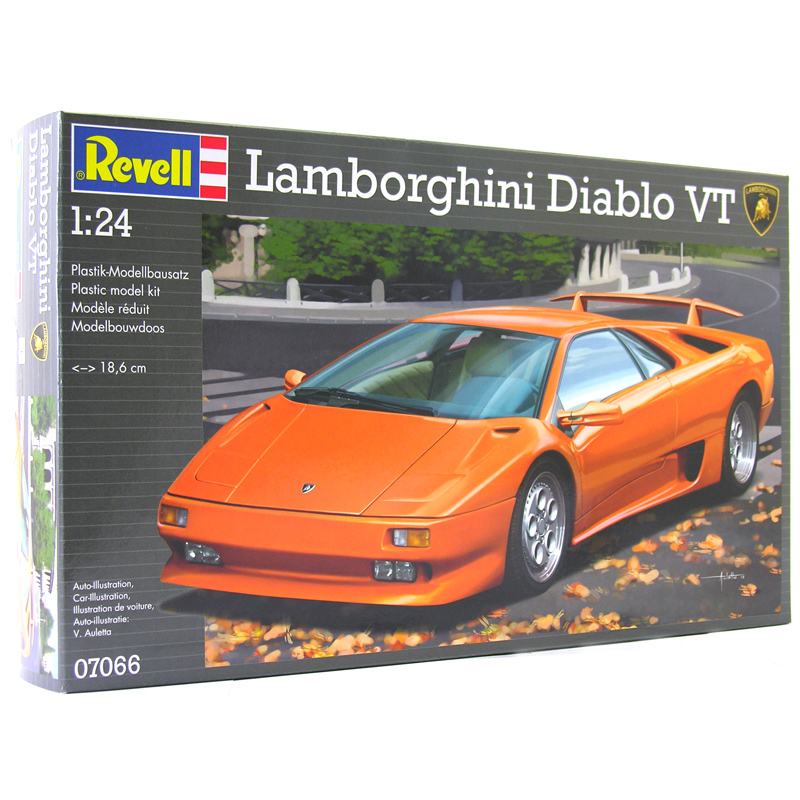 Lamborghini Diablo Vt From Revell Wwsm