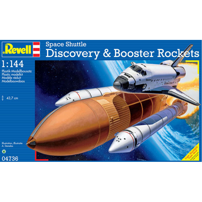 revell discovery space shuttle with boosters - photo #1