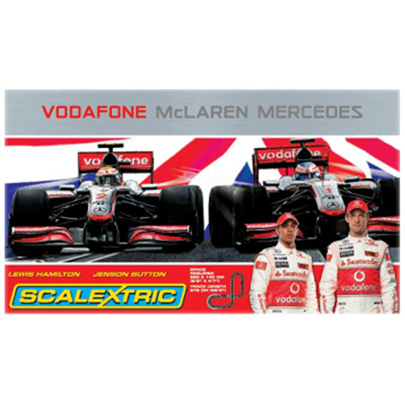 Vodafone Mclaren Mercedes F1 Set From Scalextric Wwsm