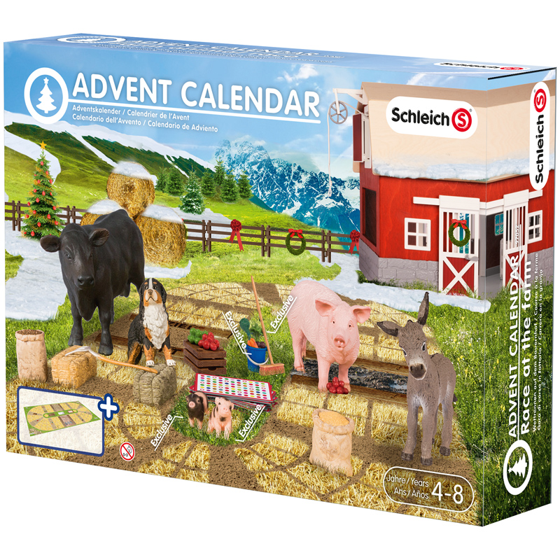 Race at The Farm Advent Calendar from Schleich | WWSM