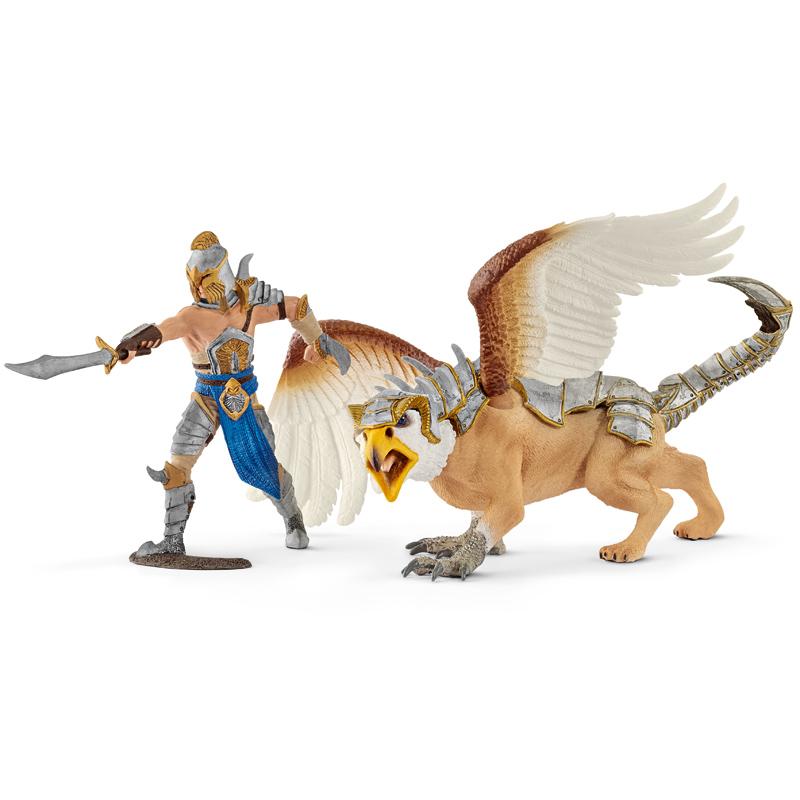 Warrior with Griffin from Schleich | WWSM