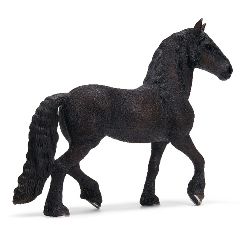 friesian horse family from schleich wwsm