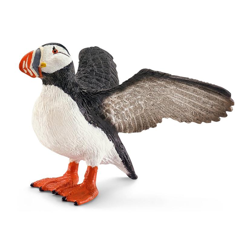 Schleich Puffin Animal Figure Ebay