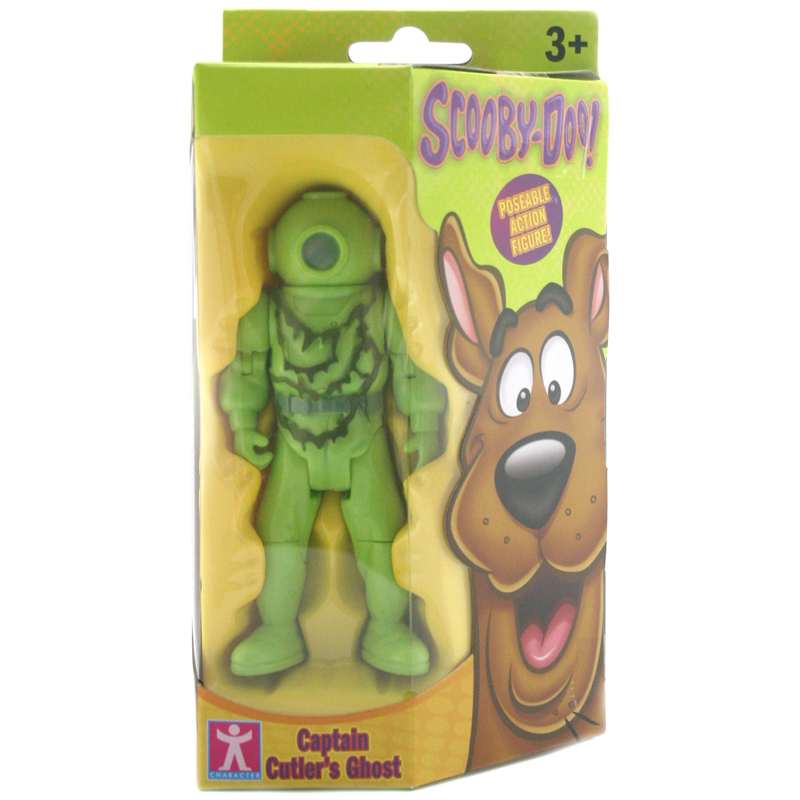 Scooby Doo Toys : Inch action figure captain cutler s ghost from scooby