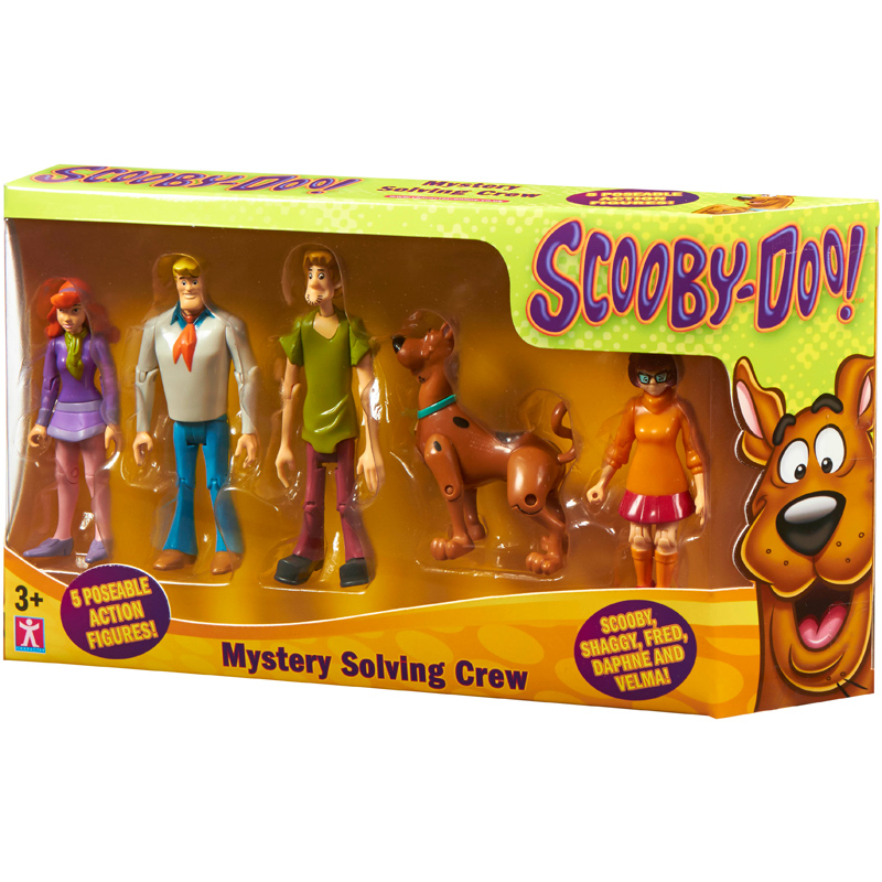 Scooby Doo Toys : Scooby doo mystery solving crew action figures pack new