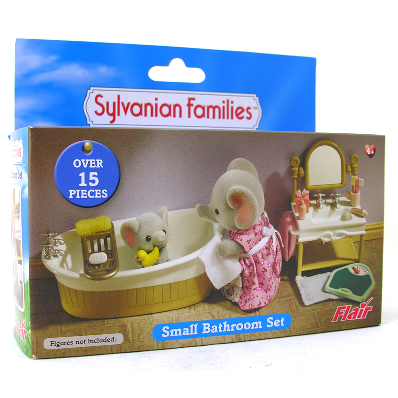 Unique Sylvanian Families  Cottage Bathroom Set SF4260  Online Toys